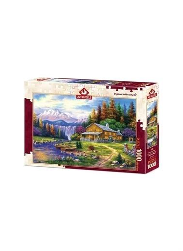 Art Puzzle Art Puzzle Dağlarda Günbatımı 1000 Parça Puzzle  Renksiz